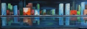 midnatts staden