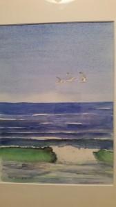 Den sjunde vågen   Akvarell