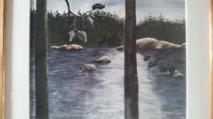 Vid Vänern 2   Akvarell