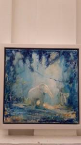 Elefanter akryl