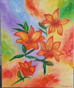 färgglada liljor 1