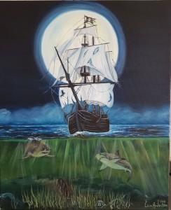 spök skepp olja