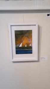 akvarell 17x22 cm